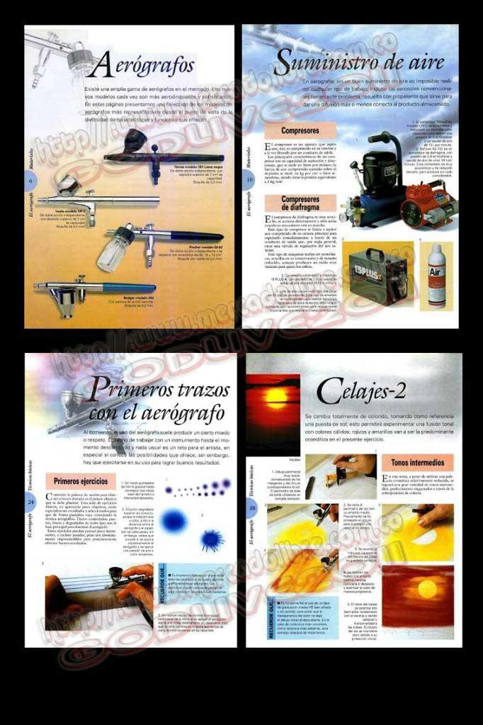 manuales curso aerografia aerografo