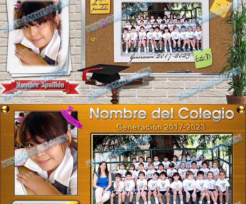 montajes profesionales escolares psd plantillas maquetas fotos grupales grupo estudiantiles