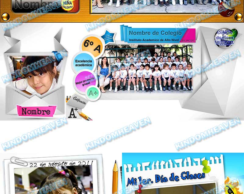 plantillas psd photoshop graduacion originales