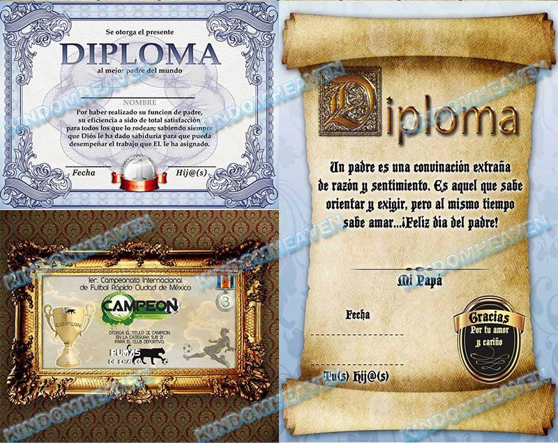 fotomontajes plantillas psd graduacion diplomas estudiantiles