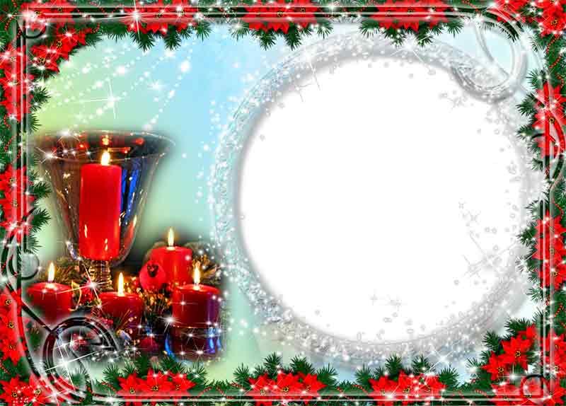 marco de navidad gratis png