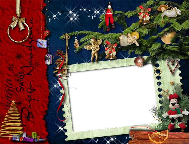 marcos gratis de navidad para tus fotos free descargar