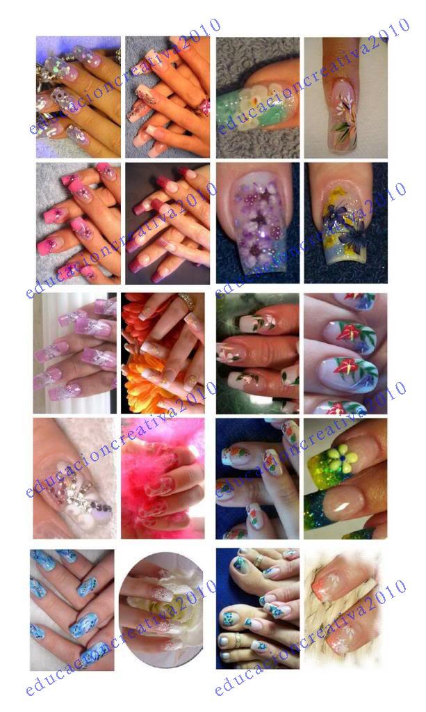 decoracion de uñas manicure