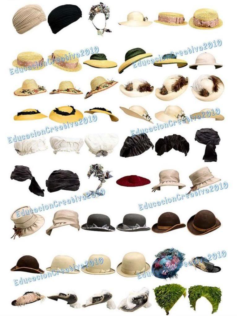 psd sombreros pavas pnh fotoshop photoshop