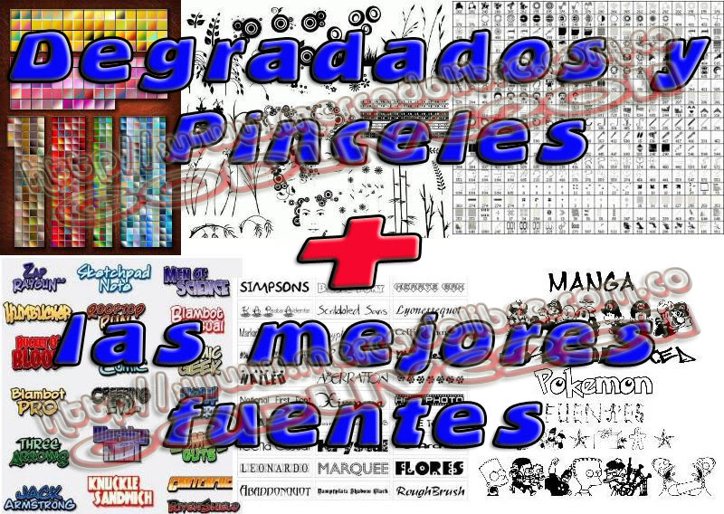 fonts fuentes resourses recursos degree degradados