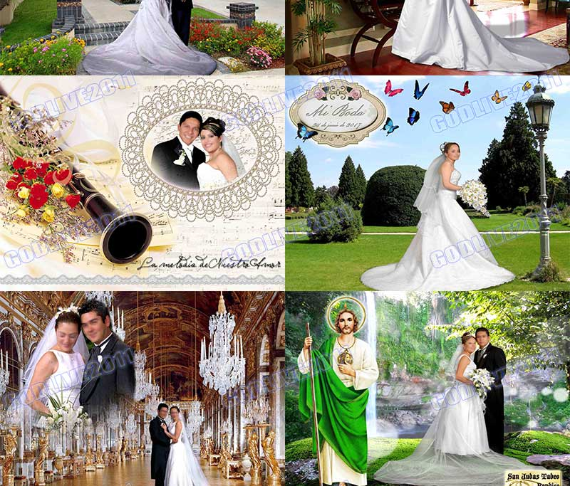 plantillas psd photoshop wedding bodas