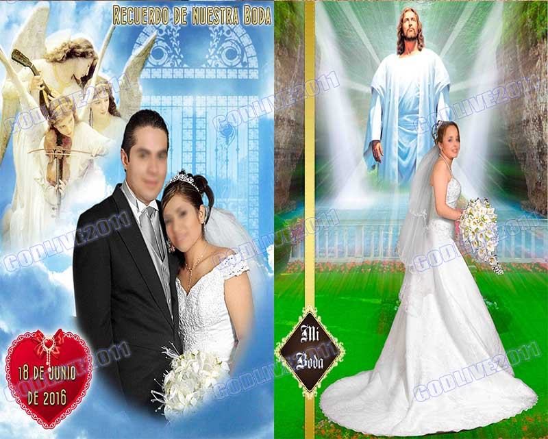 plantillas psd para photoshop bodas wedding profesionales originales