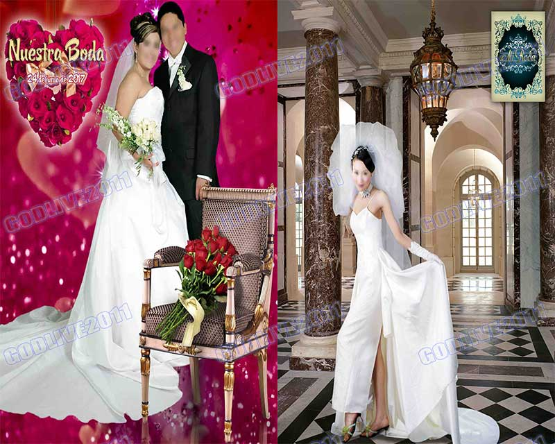 templates wedding boda románticos pareja bodas