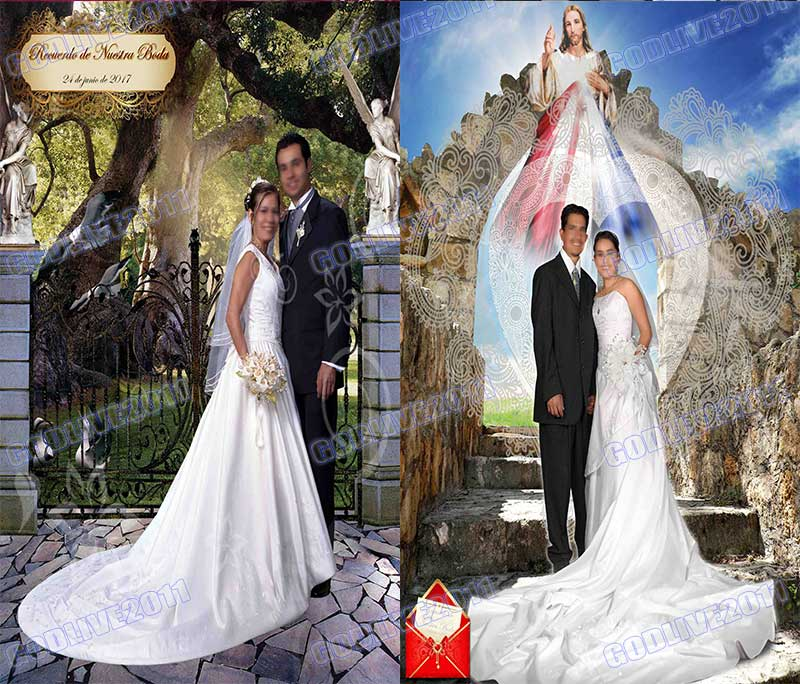 plantillas psd photoshop bodas