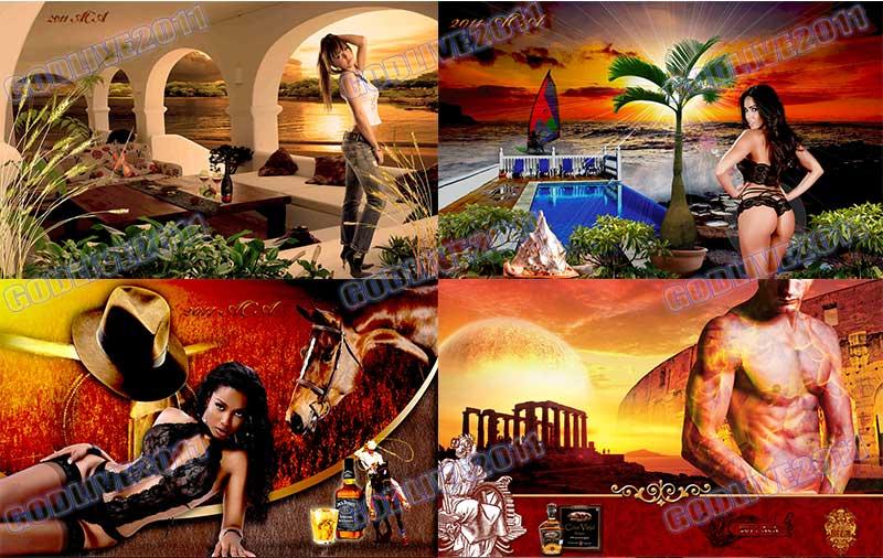 fotomontajes banners publicitarios psd editables original photoshop
