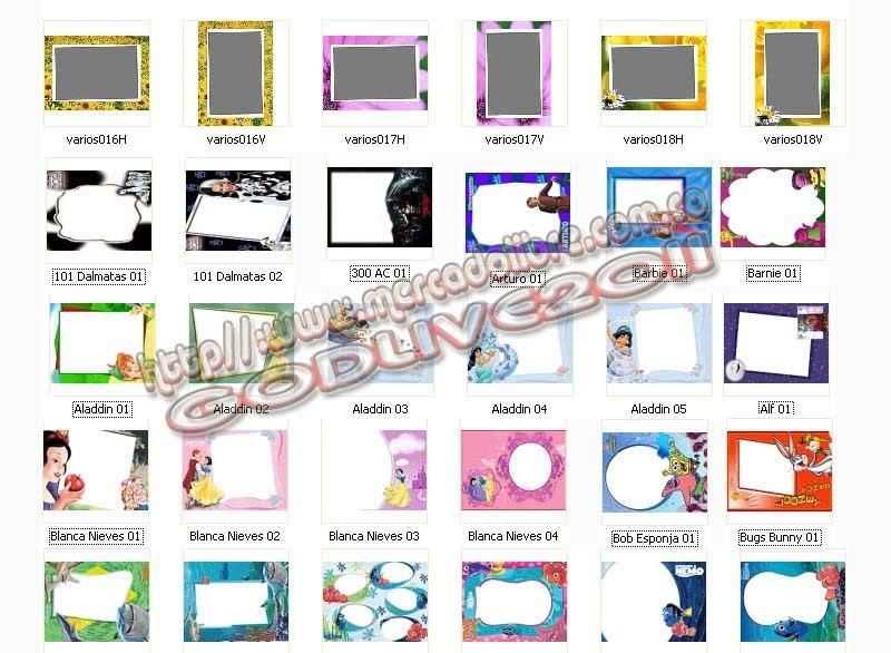 plantillas psd photoshop marcos frames