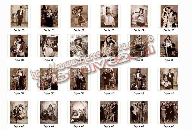 fotomontajes sepia
