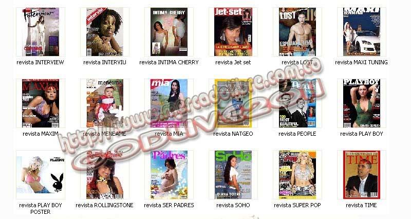 revistas psd plantillas fotomontajes