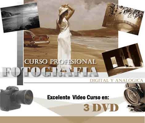 Video curso de fotografia digital analoga