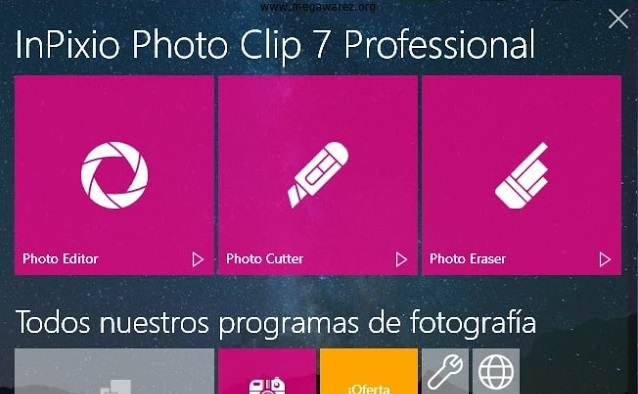 InPixio Photo Clip 7 Full Professional Español Inglés
