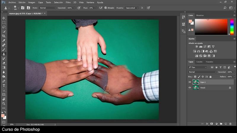 Vídeo Curso Retratos Fotográficos Profesionales con Photoshop