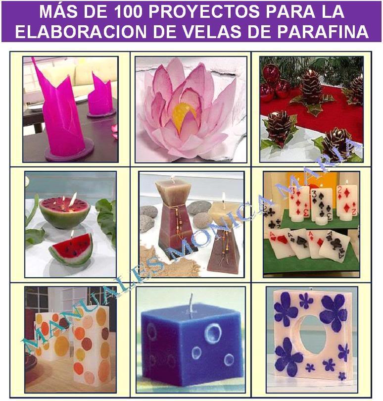 proyectos para la elaboracion velas de parafina