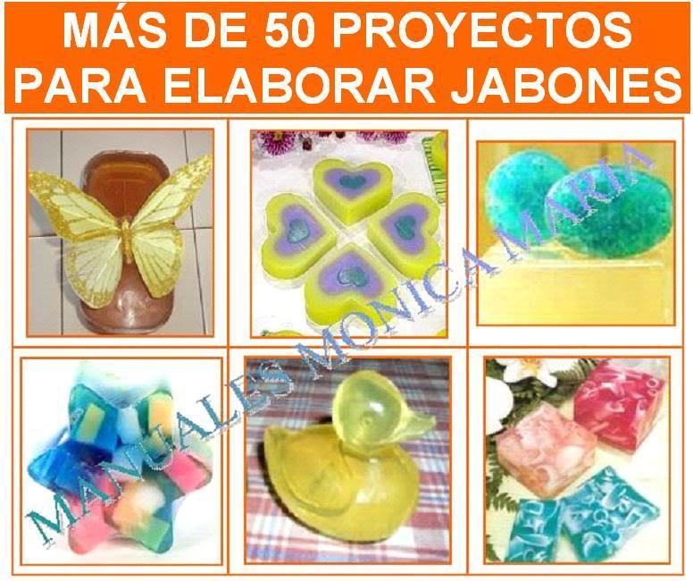 proyectos para elaborar jabones