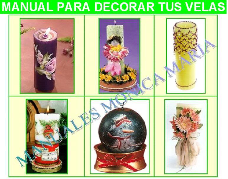 manual para decorar tus velas