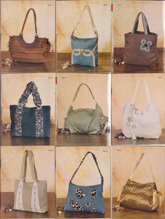 confeccionar bolsos tela carteras