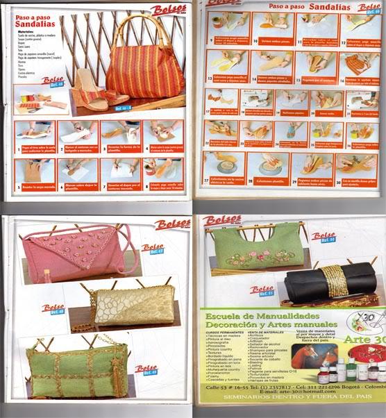 corte y confeccion bolsos y carteras tela originales diseños patrones moldes