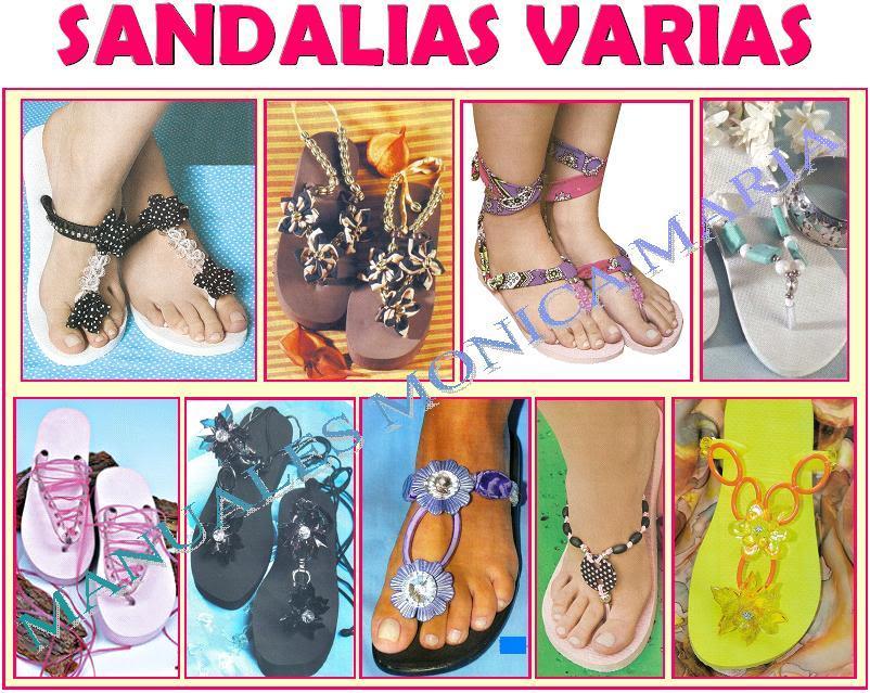 sandalias varias