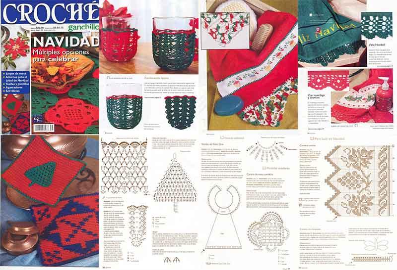 crochet navidad revistas navideñas manualidades