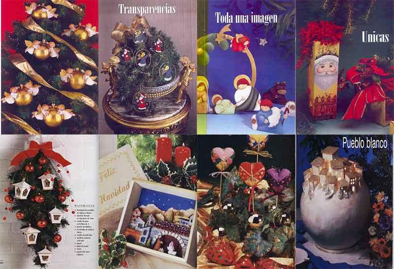 Navidad Manualidades proyectos navideños navidad paso a paso revistas