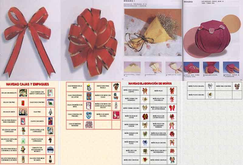 Moños y Empaques de Regalos navideños paso a paso para decorar regalos navidad