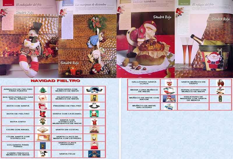 Navidad Con Fieltro paso a paso manualidades navideñas con fieltro decoración