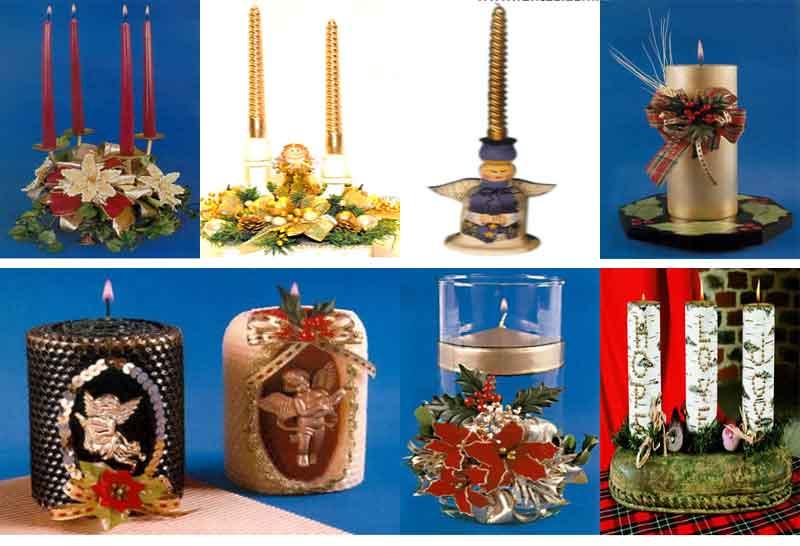 Lamparas Y Velas de Navidad paso a paso decoracion revistas libro pdf