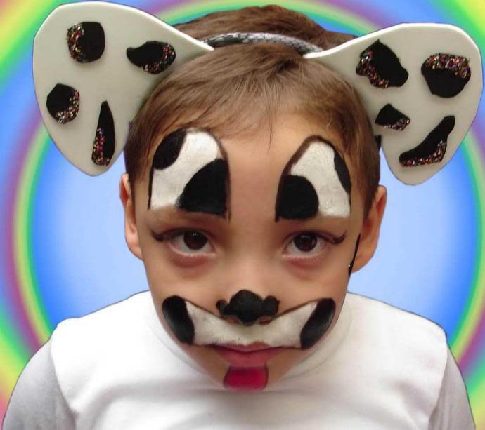 Manual Paso a Paso Halloween maquillaje niños