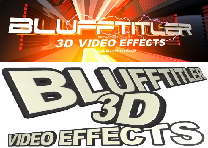 BluffTitler Ultimate 13 Multilenguaje Crea Títulos 3D para Vídeos