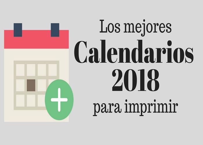 Colección de Calendarios 2018 PNG Foto Editables Foto Almanaques
