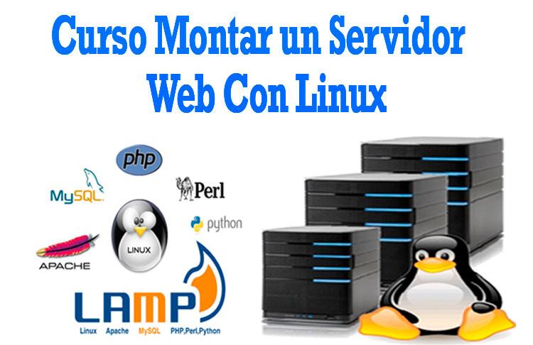 Curso Montar un servidor web con Linux Desde Cero tutorial