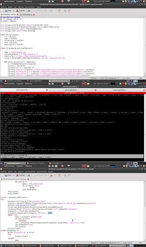 Curso aprende Hacking con Python