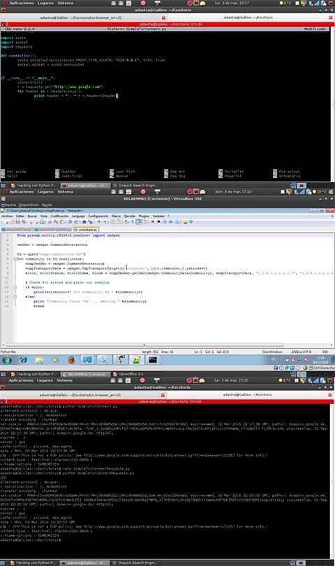 kacking con pythong Lenguaje de programacion