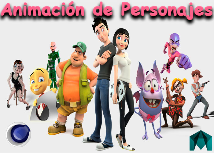 Curso Animación de Personajes Cinema 4D Maya Facial Y Diálogos