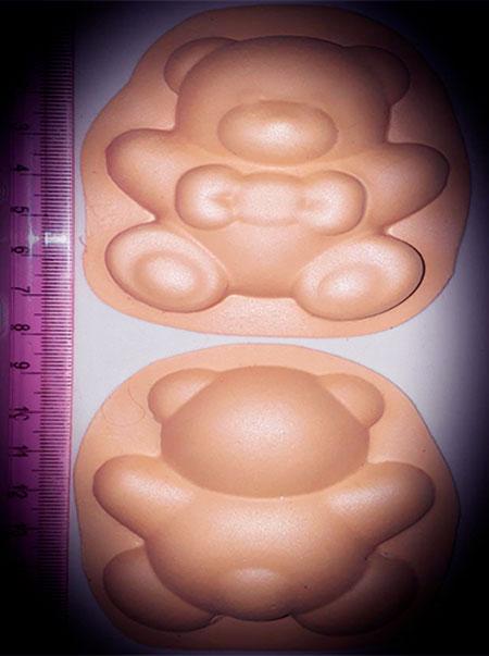 Molde Termoforma  goma eva Animal tierno Oso 3D para Foamy Foami Fomi