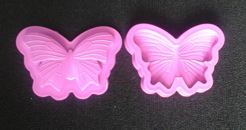 Molde para goma eva mariposas alas líneas 2 manualidades fomi foamy