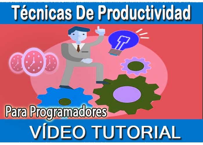 Vídeo Curso Trucos de productividad para programadores tutorial