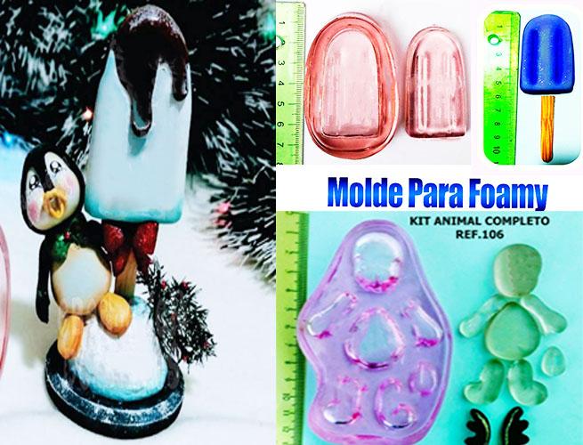 Termoforma para goma eva fomi navidad y detalles en pasta flexible
