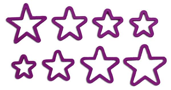 Cortador estrellas para galletas pastillaje manualidad pastillaje