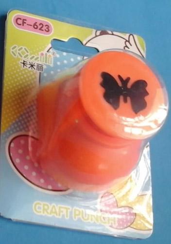 Herramientas para eva Perforadora de mariposa troquel para papel