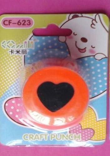 Perforadora para foami corazón troquel 2 cm para eva o papel