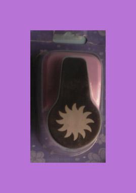 Perforadora para foami y papel sol troquel de 2 cm