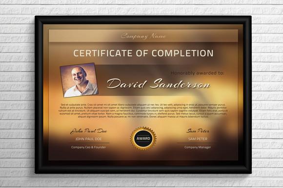 certificados psd photoshop
